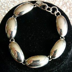 Banana Republic silvertone bracelet